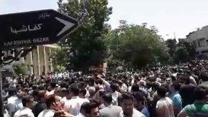 اعتصاب اسواق طهران الیوم التوالی2