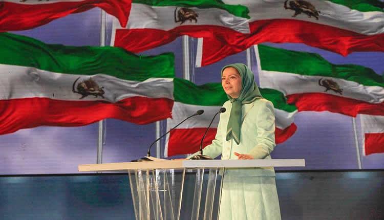 كلمة مريم رجوي في تجمع دولي: «نظام ولاية الفقيه مصدر تأجيج الحرب وزعزعة الاستقرار في المنطقة»