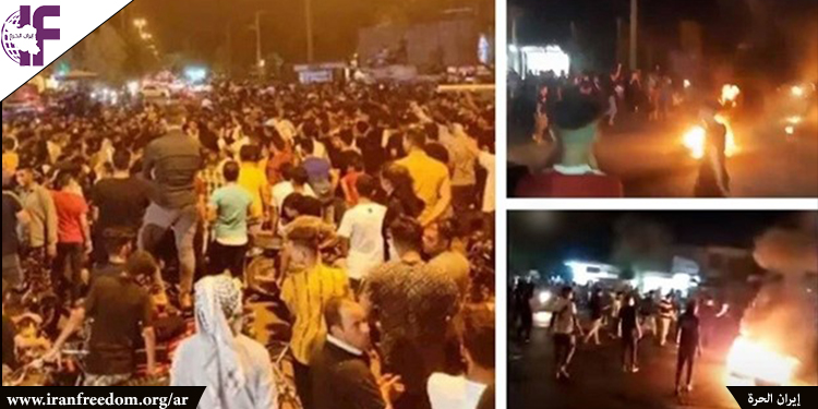 احتجاجات خوزستان تسلط الضوء على انفجار المجتمع الإيراني