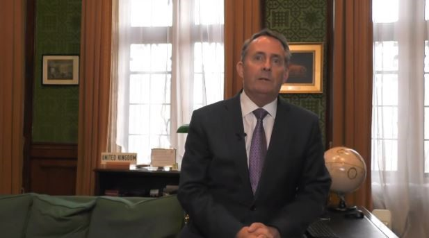 Liam Fox, Secretary of State for International Trade of the United Kingdom  (2016 –2019), Secretary of State for Defence (2010 –2011)