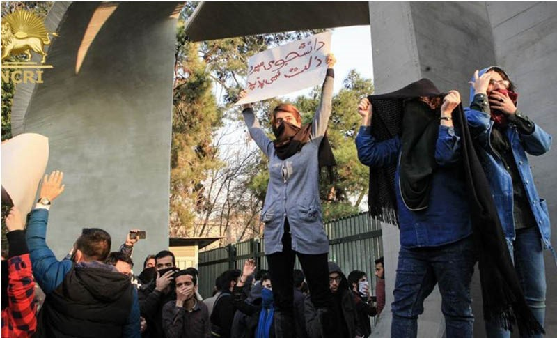 Many people in Iran are renewing their calls for regime change