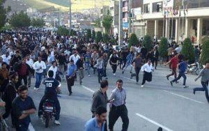 protest in kurdestan