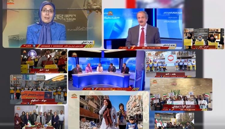Simay-e-Azadi telethon, the scene of perseverance and solidarity