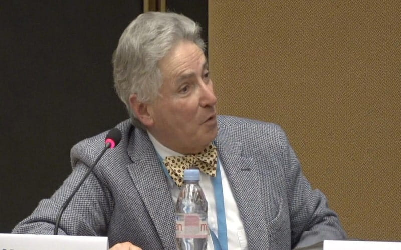 Alfred de Zayas, former UN Independent Expert on the Promotion of a Democratic and Equitable International Order