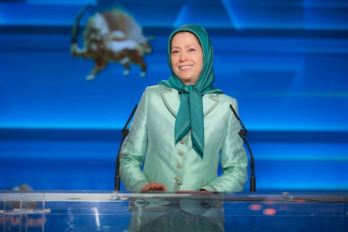Iranian opposition President Maryam Rajavi celebrating the New Year - March 20, 2019