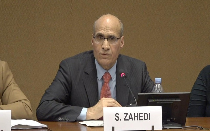 Sanabargh Zahedi, Chairman of the NCRI Judiciary Commission