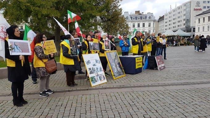 MEK supporters in Sweden