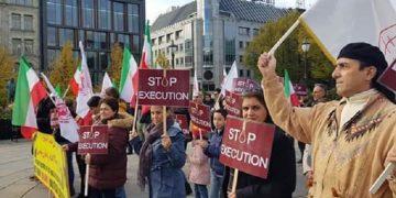 MEK supporters in Norway condemn death penalty in Iran