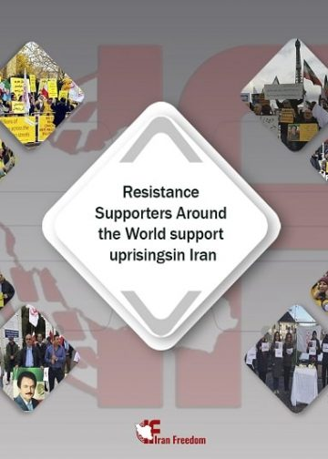 NCRI/MEK supporters across the World echo the voice of Iranian protests