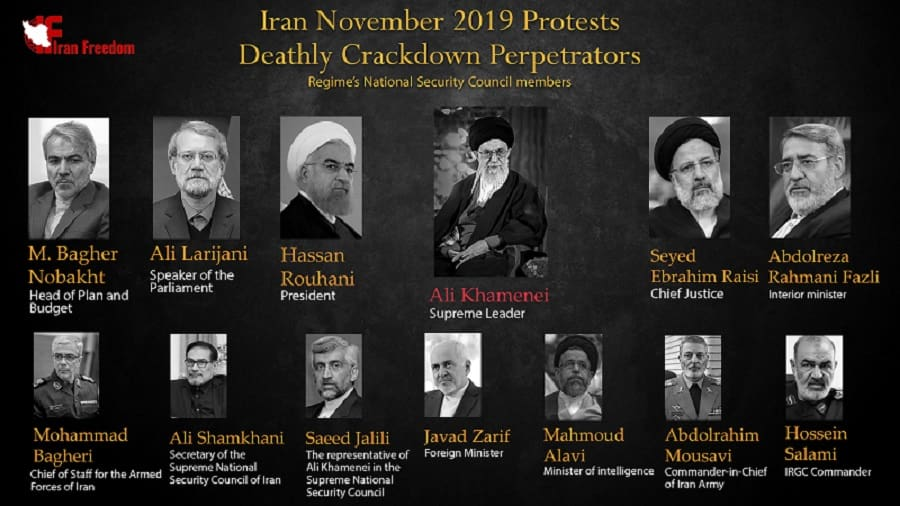 The Supreme National Security Council of Iran is the main cause of the suppression and export of terrorism