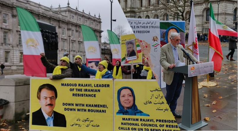 MEK and NCRI supporters in London