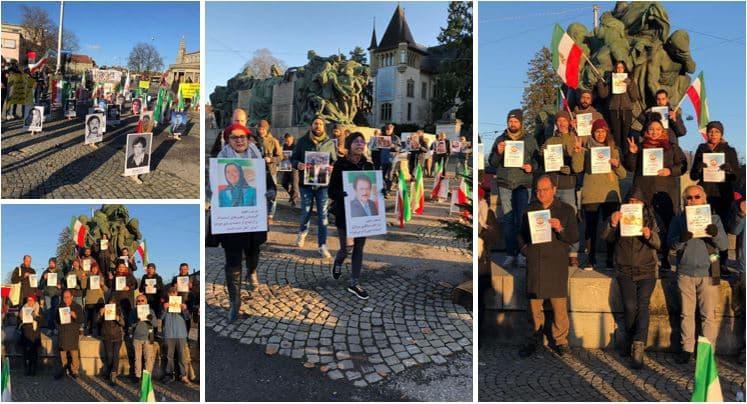 People's Mojahedin Organizationsupporters in Bern