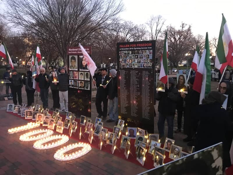 Iranian diaspora and supporters of the MEK and NCRI  in Washington DC