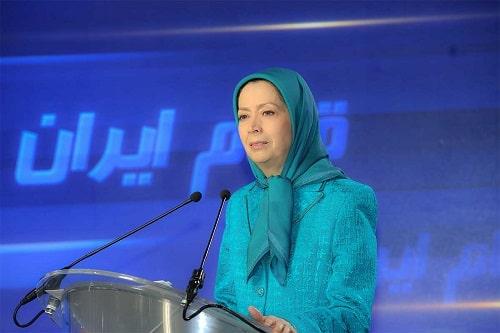 Mrs. Rajavi the NCRI's president-elect