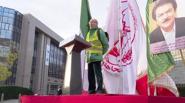 Iranians, MEK supporters in Brussels