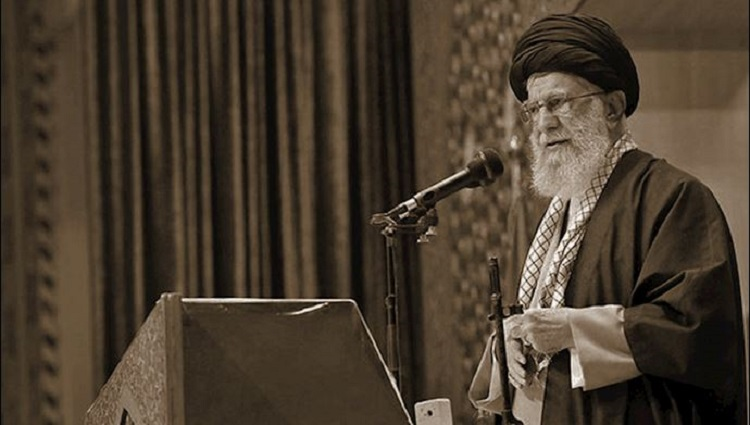 Iran Regime Supreme Leader bombs at Friday prayer speech