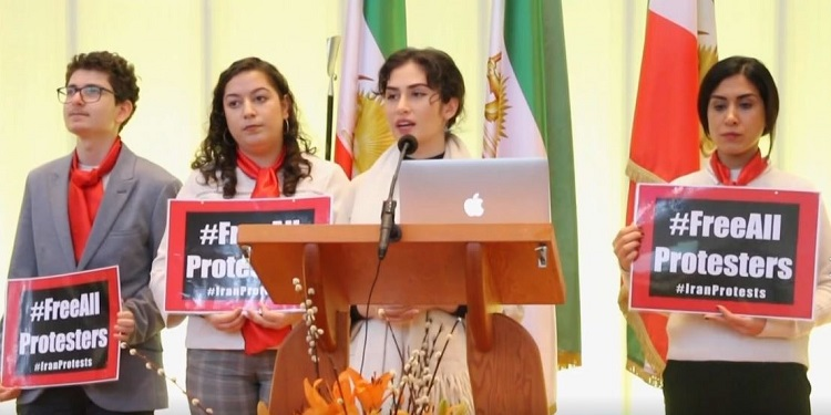 members of the Youth association in Netherlands supporters of the MEK