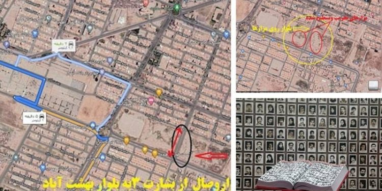 In an anti-human act, the Mullah's criminal regime destroyed the tomb of the 1988 massacre victims in Khavaran, Ahvaz, which was in the form of mass graves, to erase the traces of a great crime against humanity by building a boulevard on it.
