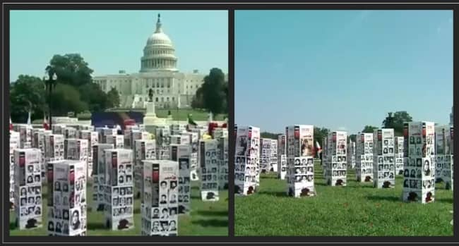 2020 Human Rights and Terrorism Photo Exhibition, 120,000 Fallen for Freedom in Iran