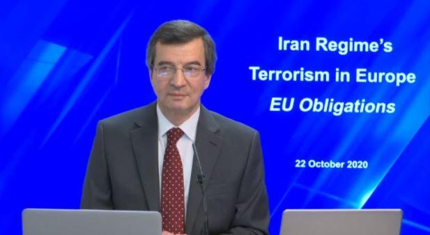 Farzin Hashemi, member of the NCRI Foreign Affairs Committee