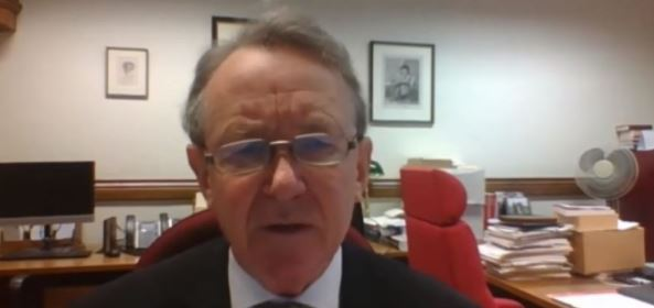 Lord David Alton of Liverpool in the Iranian opposition NCRI online conference—October 15, 2020