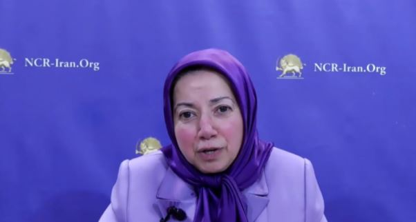 Message of NCRI President-elect Maryam Rajavi delivered by Ms. Dowlat Norouzi, head of the NCRI Office in the UK—October 15, 2020