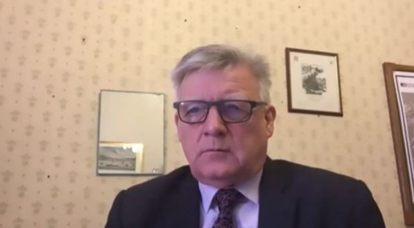 Steve McCabe MP in the Iranian opposition NCRI online conference—October 15, 2020