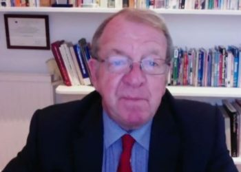 Struan Stevenson, former Member of the European Parliament from Scotland addressed a webinar on October 22, 2020, over the Iranian regime's terrorism in Europe.