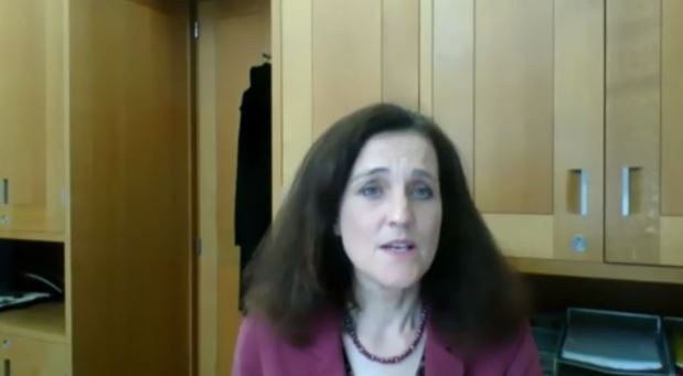 Rt. Hon. Theresa Villiers, MP, in the Iranian opposition NCRI online conference—October 15, 2020