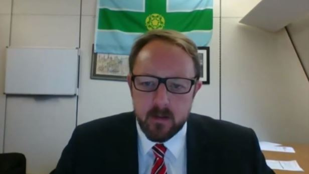 Toby Perkins, MP, in the Iranian opposition NCRI online conference—October 15, 2020