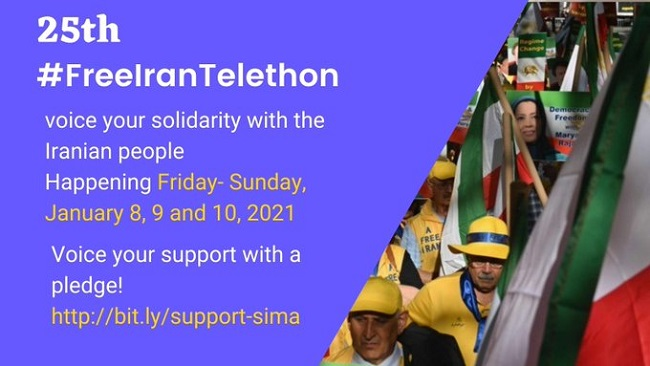 he 25th national telethon with Simay Azadi TV
