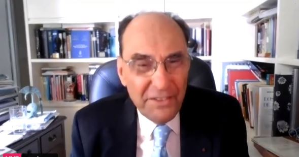 Alejo Vidal-Quadras, First Vice-President of the European Parliament