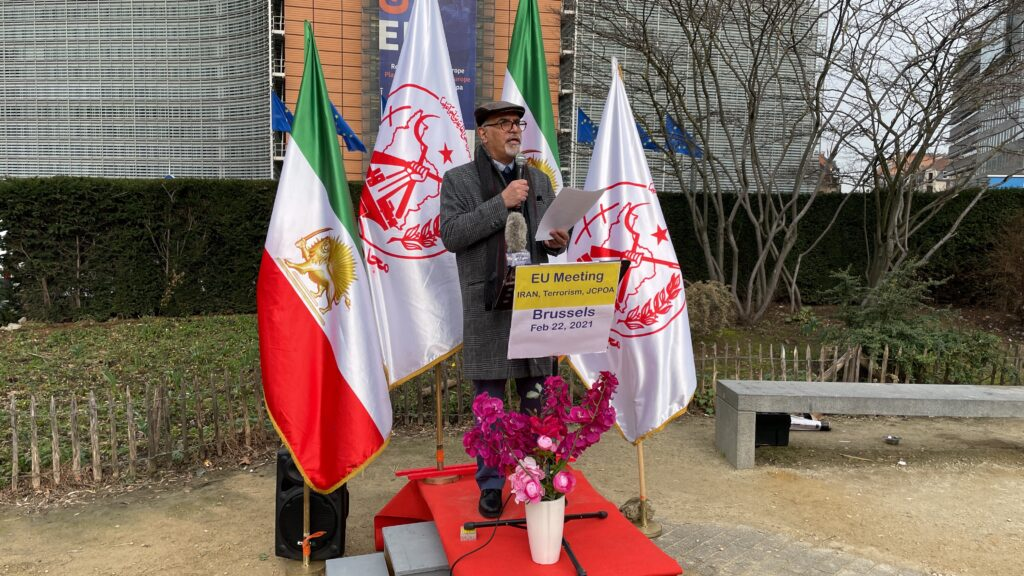 Dr. Massoud Kashefi, a supporter of the National Council of Resistance of Iran