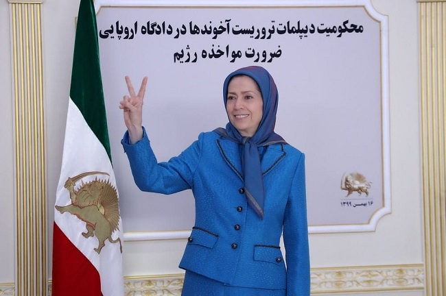 Maryam Rajavi, the President-elect of the National Council of Resistance of Iran (NCRI)