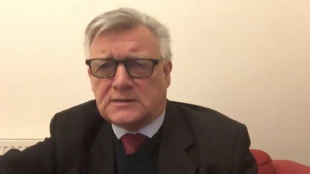 Steve McCabe, British MP for Birmingham Selly Oak