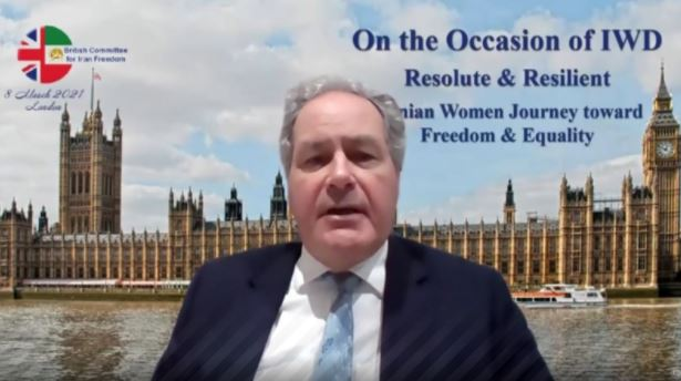 Bob Blackman, British MP, Co-Chairman of the International Committee of Parliamentarians for a Democratic Iran