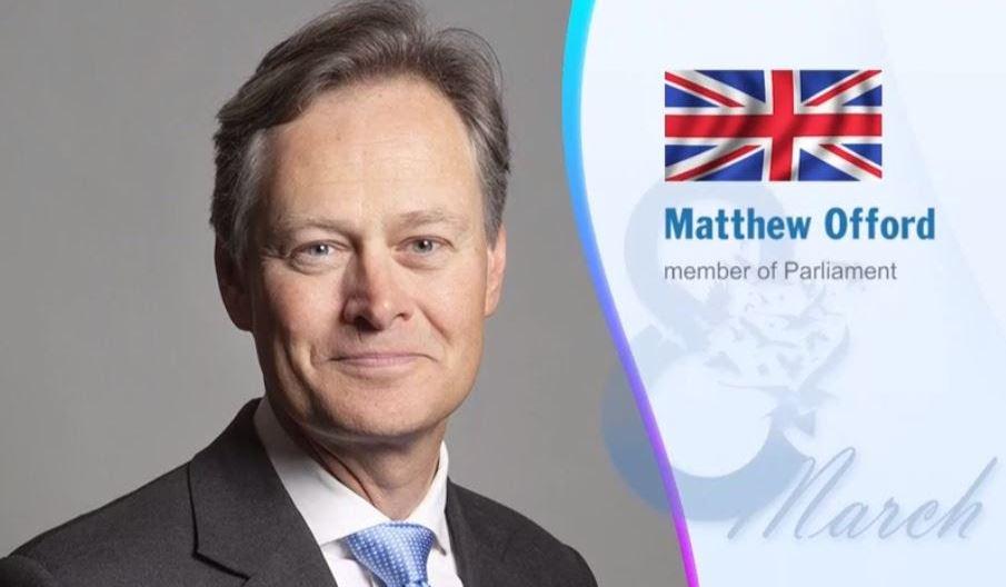 British MP Dr. Matthew Offord