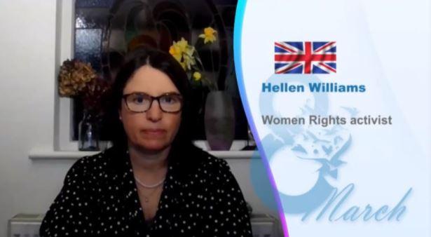 Hellen Williams Women's Rights Activist