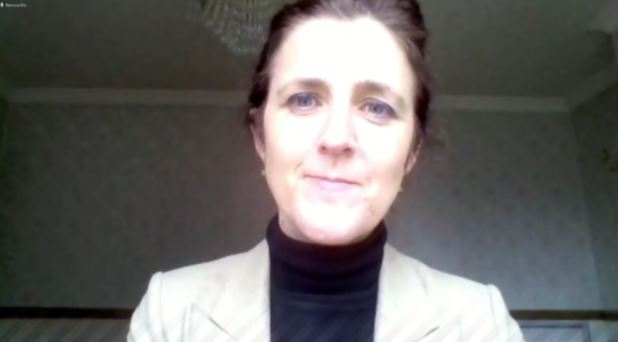Senator Erin McGreehan of Fine Gael (Irish Senate)