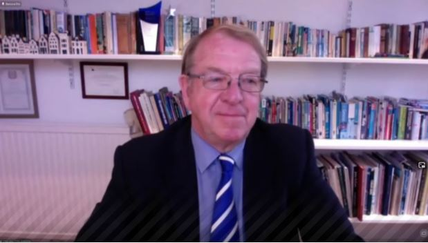 Struan Stevenson, coordinator of the Campaign for Iran Change in Iran and a former MEP from Scotland