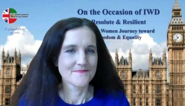 British MP and former Minister, Theresa Villiers