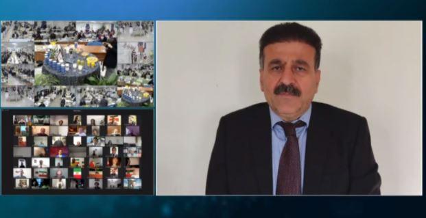 Kak BabaSheikh Hosseini, Secretary General of Khebat Organization of Kurdistan