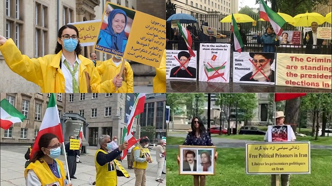 On 4, 5 and 6 June 2021, Iranian supporters of the People's Mojahedin Organization of Iran (PMOI/MEK) and the National Council of Resistance of Iran(NCRI) held rallies in European and Canadian Cities. They rallied in Oslo, London, Vienna, Stockholm, Bochum, Toronto, Ottawa, Montreal and Luxembourg.