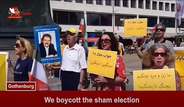 On June 7, 2021, Iranian supporters of the People's Mojahedin Organization of Iran (PMOI/MEK) and the National Council of Resistance of Iran (NCRI) held rallies in Vienna and Gothenburg against the dictatorship in Iran.