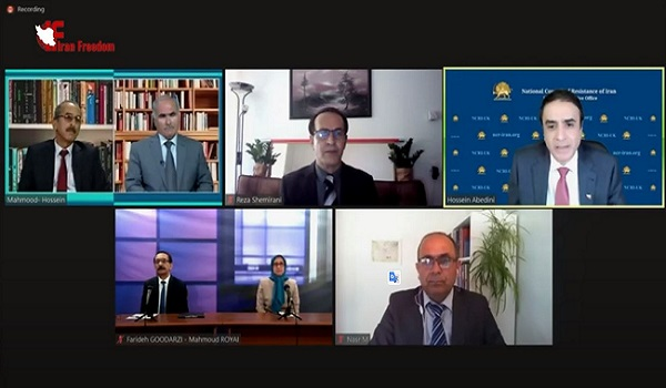 On Tuesday, June 8, 2021, some former Iranian political prisoners, members, and supporters of the People's Mojahedin Organization of Iran (PMOI/MEK), attended an online conference held by the foreign affairs committee of the National Council of Resistance of Iran (NCRI), shedding light on the criminal record of the candidates of Iran's sham presidential election, particularly Ebrahim Raisi.