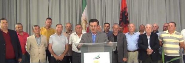 Delegation of Albanian people, neighbors of Ashraf 3