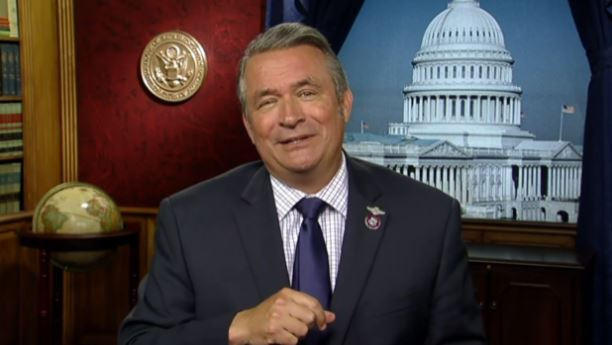 Congressman Don Bacon (R.) is the U.S. Representative for Nebraska's 2nd congressional district