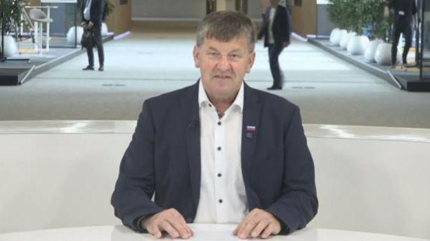 MEP Franc Bogovič from Slovenia