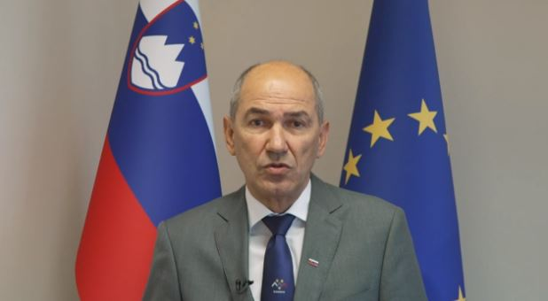 Janez Janša, Prime Minister of Slovenia