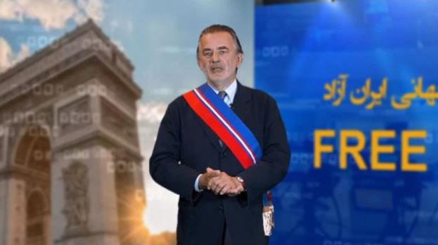 Jean-François Legaret, co-president of the Committee of French Representatives for a Democratic Iran, former Mayor of Paris 1st District